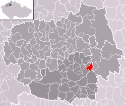 Location of Záluží