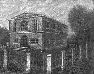 Zastavna - Image: Zastavna,synagogue