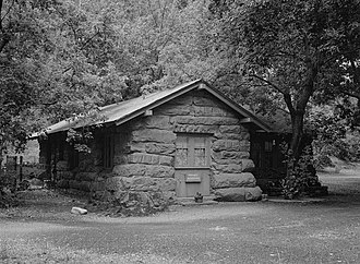 Historical buildings and structures of Zion National Park - Museum-Grotto Residence