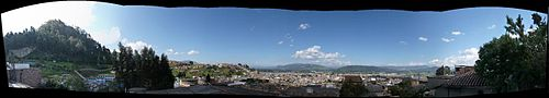 Panorama over Zipaquirá