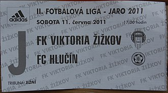 FK Viktoria Žižkov - Match ticket