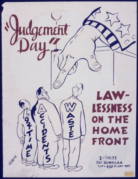 """File:""""Judgement Day"""". Lawlessness on the home front - NARA - 535064.tif"""