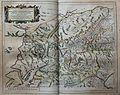"""Scotiae provinciae mediterraneae inter Taum flumen et Vararis aestuarium... - Opera Ro. Gordonii a Straloch = A description of the inland provinces of Scotland lying between Tay river and Murra fyrth... "" (22259162595).jpg"
