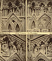 """The Resurrection,"" Niche Sculptures, Wells Cathedral West Façade (3611535372).jpg"