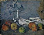 'Glass and Apples' by Paul Cézanne, 1879-1882.jpg