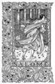 'Salomé' - wood engraving by Lucien Pissarro.png
