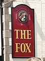 (Another) sign for The Fox - geograph.org.uk - 838817.jpg