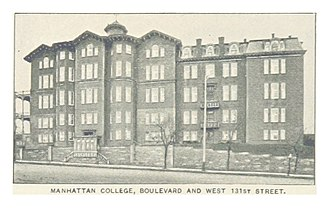 Manhattan College - Broadway and 131st St, early 1890s