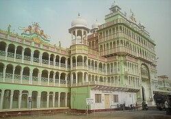 ( Side view of Rani Sati temple Jhunjhunu ).jpg