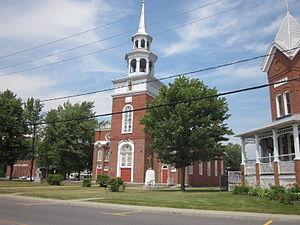 Pierreville, Quebec - Image: Église Saint Thomas de Pierreville