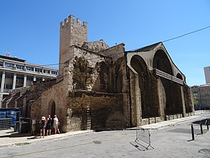 Marseille Cathedral - The old Cathedral, la vieille Major