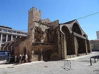 Marseille Cathedral - Image: Église de la vieille Major