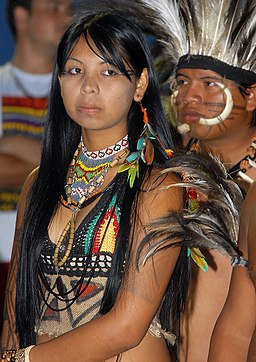 Índia da etnia Terena