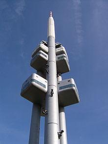 Torre televisiva, Praga