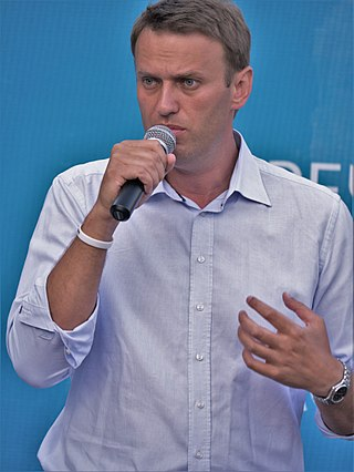 Navalny in front of his electorate, asking Muscovites to vote for him in August 2013 Aleksei Naval'nyi 2.jpg