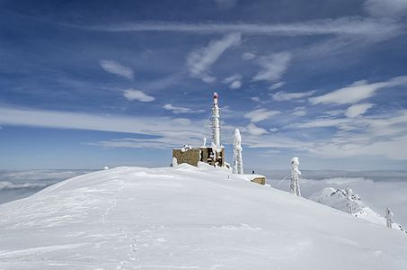 Pelister (2, 601 m), highest peak on Baba Mountain, Macedonia