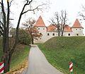 Бауска (Латвия) Замок - panoramio.jpg