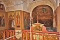 Вид с хоров на верхнюю часть северо-восточного столпа Успенского собора.jpg