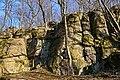 """Виходи граніту геологічної пам'ятки """"Скеля Коцюбинського"""" P1200418.jpg"""