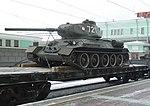 В Новосибирске эшелон с легендарными танками Т-34 7.jpg