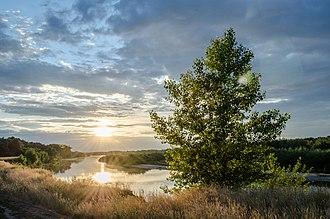 Kletsky District - Don River in Kletsky District