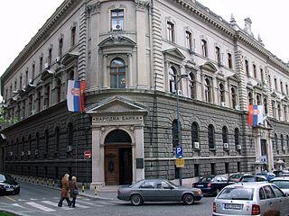 National Bank Building, Belgrade Historic building in Belgrade, Serbia