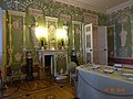 Интерьер дворца - зеленые стены столовой.jpg