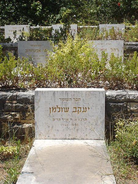 File:קבר של חבר השומר 1920 כפר גלעדי (218535624).jpg