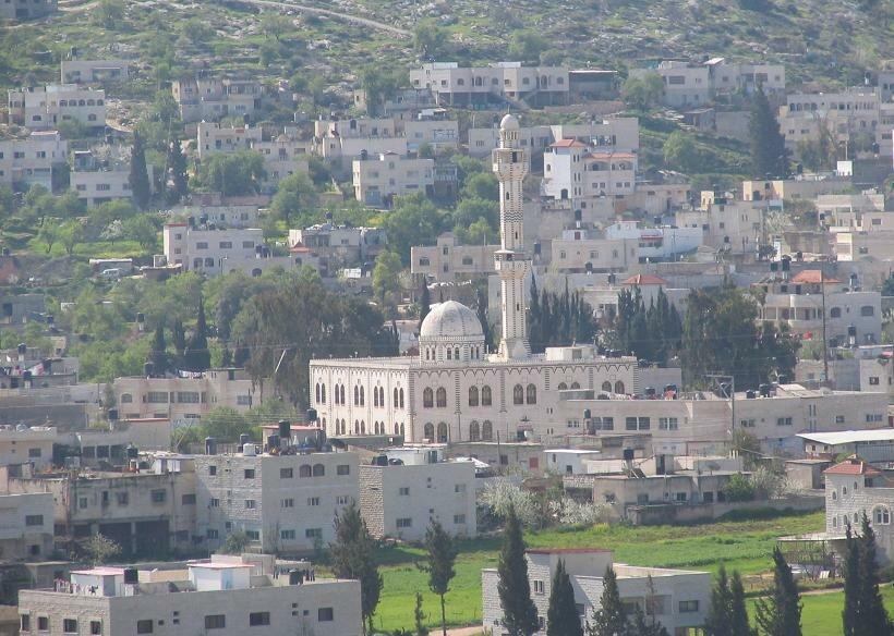 مسجد صلاح الدين في بلدة قباطية