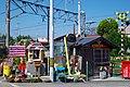 「まことちゃん地蔵」と「踏切地蔵」 2014.3.28 - panoramio.jpg