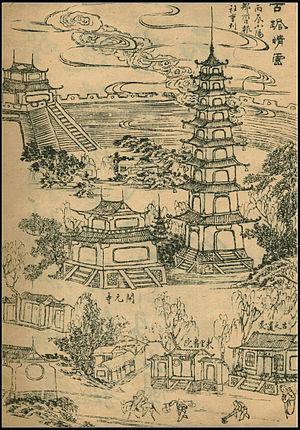 History of Zhengzhou - Qingyun Ancient Pagoda, Zhengzhou (古塔晴云)