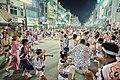 徳島県徳島市 円になって踊る阿波踊り.jpg