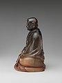 犀角達摩像-Buddhist monk Bodhidharma (Chinese- Damo) MET DP253236.jpg