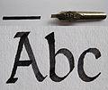 01Bandzugfeder mit Strich und Schriftbeispiel.jpg