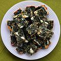 02016 0858 Speise von essbaren Wildpflanzen, Beskidische Küche, Tarta.JPG