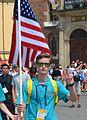02016 1610 USA-Teilnehmer bei Weltjugendtag 2016 in Krakau.jpg