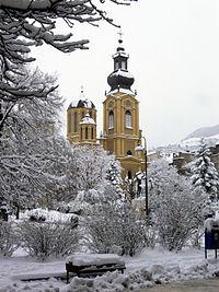 Serbian Orthodox Cathedral in Sarajevo