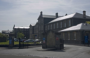Ashley Down - The college buildings on Ashley Down Road.