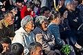 0917 - Nordkorea 2015 - Pjöngjang - Public Viewing am Bahnhofsplatz (22789144190).jpg
