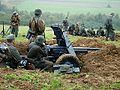 091 Reenactment of Battle in 1944 at Pielnica valley (Nowosielce, Sanok County).jpg