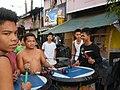 0932jfPedestrian footbridge C-38 Capulong Marcos Road Musicians Tondo Manilafvf.jpg