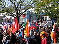 1. Mai 2013 in Hannover. Gute Arbeit. Sichere Rente. Soziales Europa. Umzug vom Freizeitheim Linden zum Klagesmarkt. Menschen und Aktivitäten (002).jpg