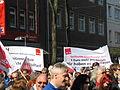 1. Mai 2013 in Hannover. Gute Arbeit. Sichere Rente. Soziales Europa. Umzug vom Freizeitheim Linden zum Klagesmarkt. Menschen und Aktivitäten (046).jpg