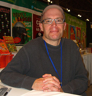 Lincoln Peirce - Peirce at the 2012 New York Comic Con.
