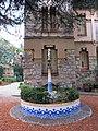 112 Casa Barbey, brollador i façana nord (la Garriga).JPG