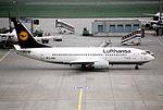 115ap - Lufthansa Boeing 737-330, D-ABEK@FRA,23.10.2000 - Flickr - Aero Icarus.jpg
