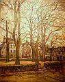 125A Germain David-Nillet La place plantée Le Faouët.JPG