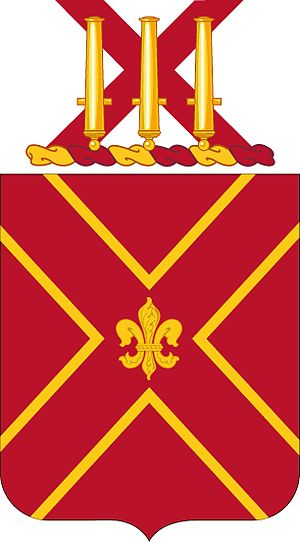 13th Coast Artillery (United States) - Coat of arms