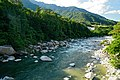 150606 Kiso River view from Momosuke Bridge Nagiso Nagano pref Japan02s3.jpg