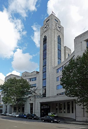 National Audit Office (United Kingdom) - The National Audit Office's Head Office in Buckingham Palace Road, London, built originally as the Imperial Airways Empire Terminal